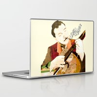 django Laptop & iPad Skins featuring Django Reinhardt by Daniella Birtley