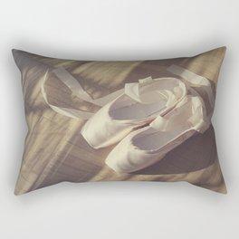 Ballet dance shoes Rectangular Pillow