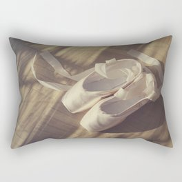 Ballet dance shoes Rectangular Pillow