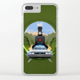 Clara Clayton Canyon Clear iPhone Case