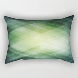 Amazing Abstract Triangular Galaxy - Visual Art V.7 Rectangular Pillow