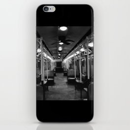 New York Subway Car #2 iPhone Skin