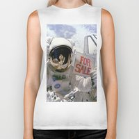 sale Biker Tanks featuring For Sale by [£13]
