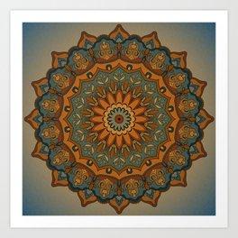 Moroccan sun Art Print