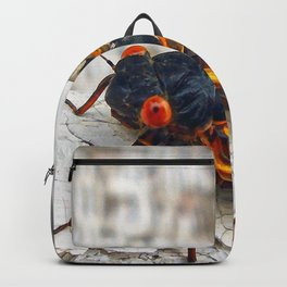 Red Eyed Cicada Backpack