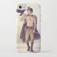warrior iPhone & iPod Cases featuring Warrior by brightfallenstars