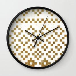 Boho Chic III Wall Clock