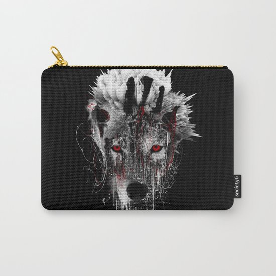 WOLF - RED EYE Carry-All Pouch