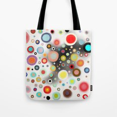 Whimsical Nursery Happy Circles Tote Bag