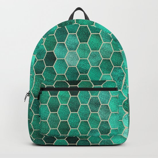 Glitter Tiles V Backpack