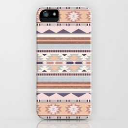 Blush South Western Pattern iPhone Case