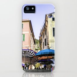 Outdoor Cafes iPhone Case