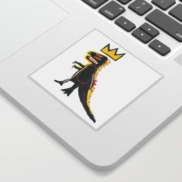 Dinosaur: Homage to Basquiat Sticker