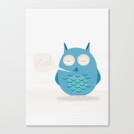 That was a hoot! Canvas Print