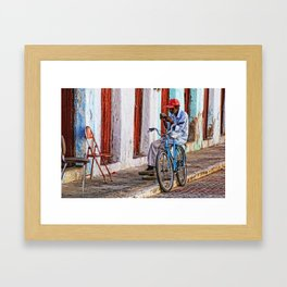 News Framed Art Print