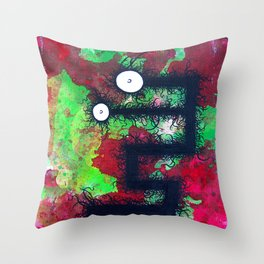 The creatures from the drain 29 Throw Pillow