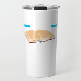 Bookmarks are for Quitters Funny Reading Travel Mug