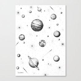 Milky Woah Canvas Print