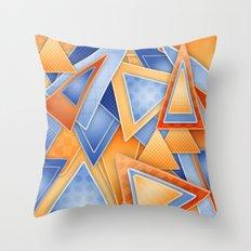 GeOmEtRiCity Throw Pillow