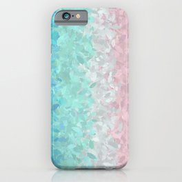 Mermaid Scales - Ombre iPhone Case