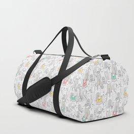 Doodle Cats Duffle Bag