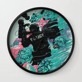 Wolf gang Wall Clock