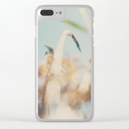 sweet sweet days of summer amongst the wild flowers ... Clear iPhone Case