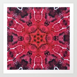 Flow Kaleidoscope 1 Art Print