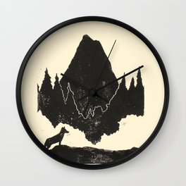 Phaedrus (Zen & The Art of Motorcycle Maintenance) Wall Clock