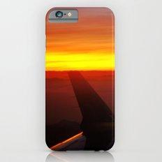 Sunset at 30,000 Feet iPhone 6s Slim Case