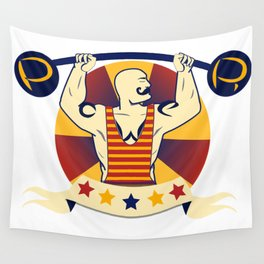 Power Strongman Wall Tapestry