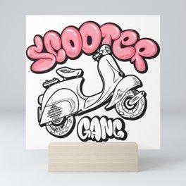 Scooter gang Mini Art Print