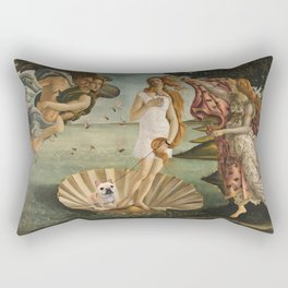 Venus and her Dog Rectangular Pillow