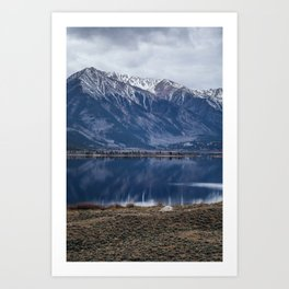 Twin Lakes Magic Art Print