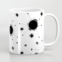 outer space Mugs featuring Outer Space by Anna illustrates