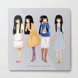 Sawako Metal Print