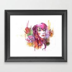 Blushing in Spring Framed Art Print