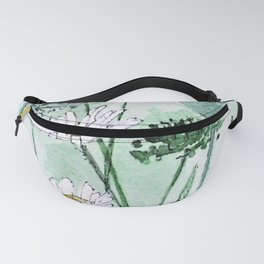 Thistles and Daisies Fanny Pack
