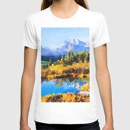 Mountain Watercolor T-shirt