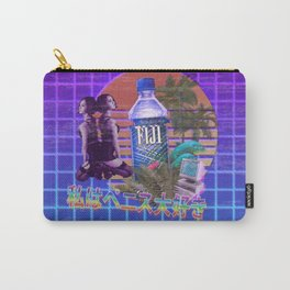 Vaporwave Fiji Bottle Carry-All Pouch