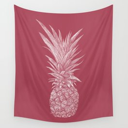 Pineapple : Le Vin Wall Tapestry