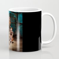 bioshock Mugs featuring Bioshock by Emily Blythe Jones