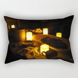 Kitchen by Candlelight Rectangular Pillow