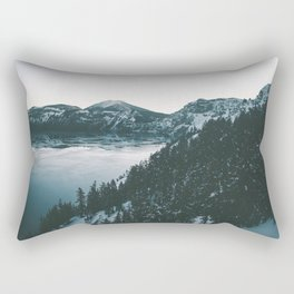 Crater Lake II Rectangular Pillow