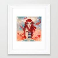 pirate Framed Art Prints featuring Pirate by Minasmoke