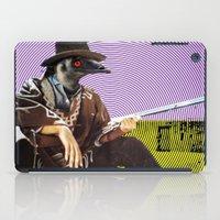 clint barton iPad Cases featuring Clint Emu by Alan Hogan