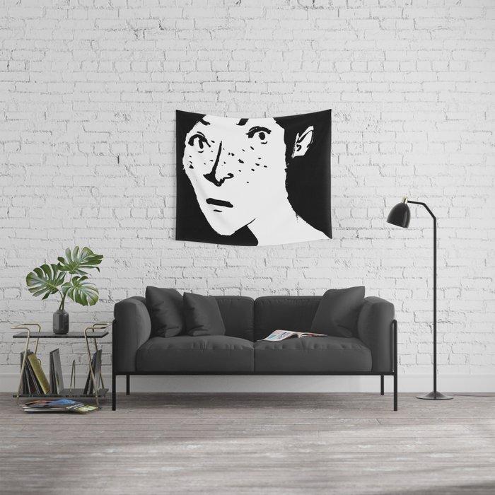Women portrait Wall Tapestry