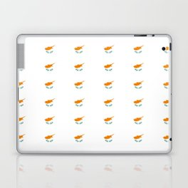flag of cyprus – cypriot,cypriote,cyprian, Κύπρος,nicosia. Laptop & iPad Skin
