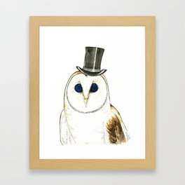 CHOUETTE Framed Art Print