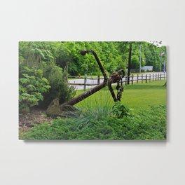 Anchors Aweigh I- horizontal Metal Print